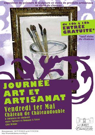 Affiche Art et Artisanat