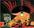 Nature Morte au Verre sous la Lampe Pablo Picasso