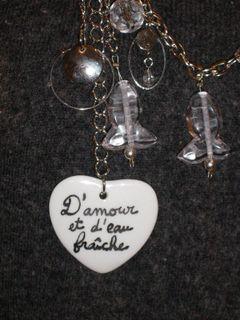 Détail collier amour