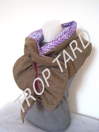 Tweed violet 2 trop tard
