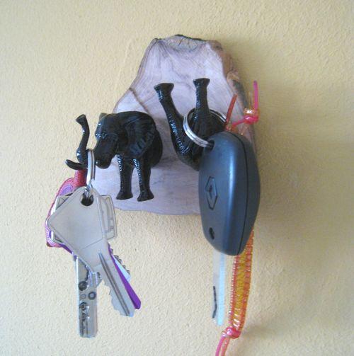 Porte clef clefs