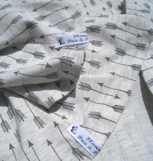 étiquettes tshirt