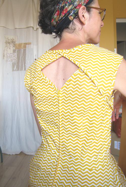 Belladone jaune dos