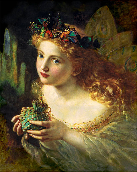 Fée sophie anderson 1823 1903