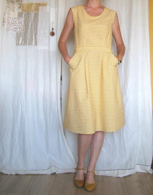 Belladone jaune devant