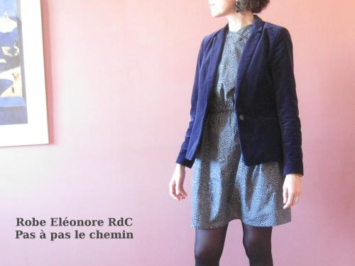Robe Eléonore Pas à pas le chemin veste